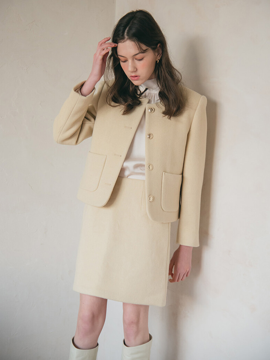 MARIE WOOL JACKET [20% SALE]