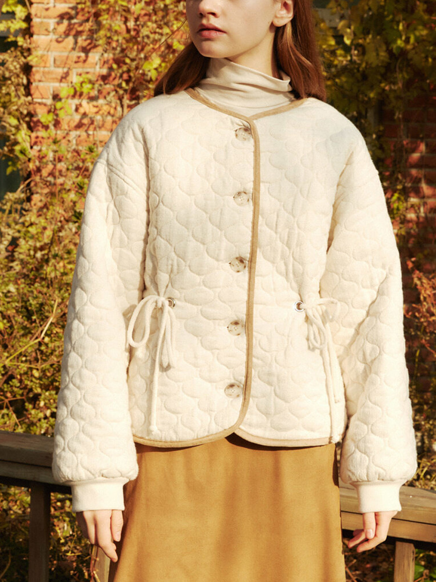 A3 COTTON PADDING SINGLE JACKET_IV [30% SALE]