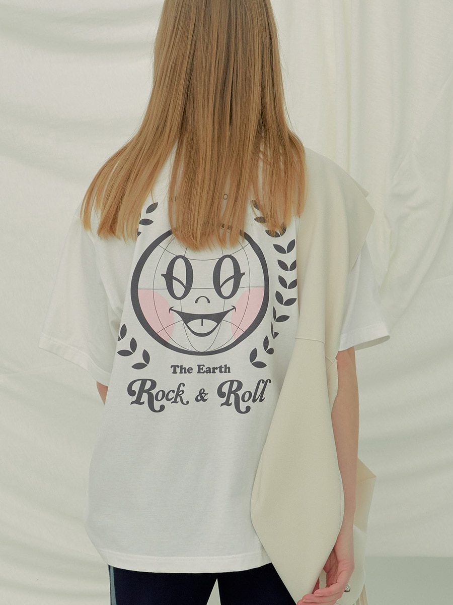 Rock & Roll Tee (White)